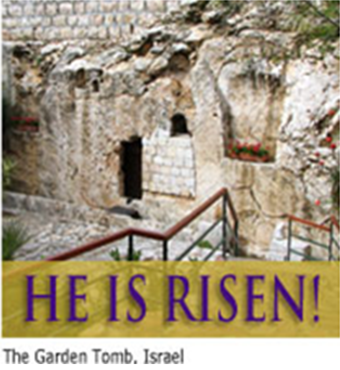 He Is Risen Matthew 28 6
