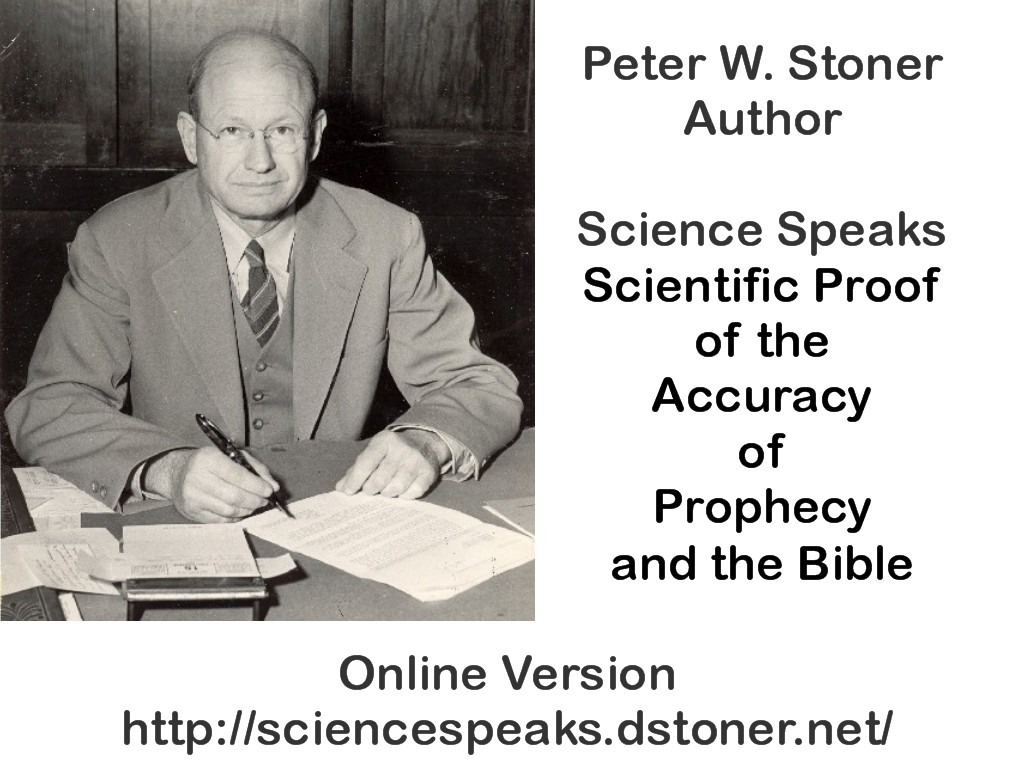 Applying the Science of Probability to the Scriptures By David R ...